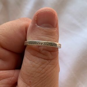 Tiffany & Co Notes Ring